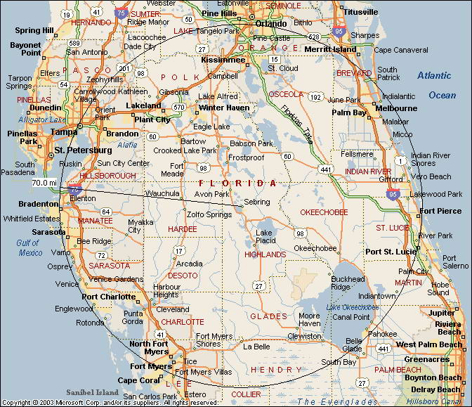 25 Awesome Map Of North Central Florida